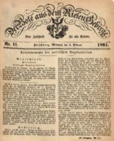 Der Bote aus dem Riesen-Gebirge, 1861, Jg. 49, Nr. 11