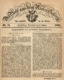 Der Bote aus dem Riesen-Gebirge, 1861, Jg. 49, Nr. 14