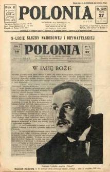 Polonia, 1929, R. 6, nr 1788