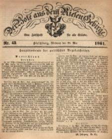 Der Bote aus dem Riesen-Gebirge, 1861, Jg. 49, Nr. 43