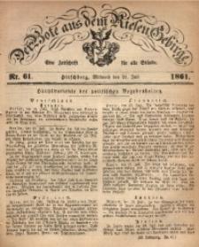 Der Bote aus dem Riesen-Gebirge, 1861, Jg. 49, Nr. 61