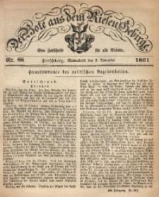 Der Bote aus dem Riesen-Gebirge, 1861, Jg. 49, Nr. 88