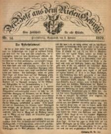 Der Bote aus dem Riesen-Gebirge, 1872, Jg. 60, Nr. 14