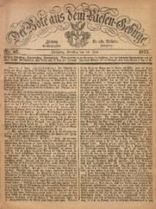 Der Bote aus dem Riesen-Gebirge, 1872, Jg. 60, Nr. 67