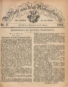 Der Bote aus dem Riesen-Gebirge, 1864, Jg. 52, Nr. 17