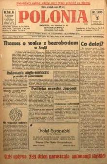 Polonia, 1929, R. 6, nr 1793