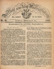 Der Bote aus dem Riesen-Gebirge, 1864, Jg. 52, Nr. 48