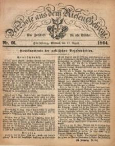 Der Bote aus dem Riesen-Gebirge, 1864, Jg. 52, Nr. 66