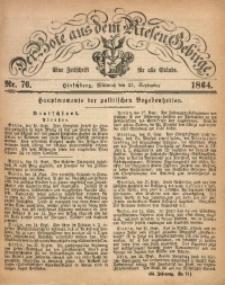 Der Bote aus dem Riesen-Gebirge, 1864, Jg. 52, Nr. 76