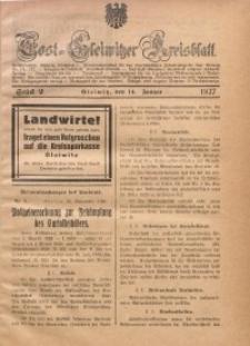 Tost-Gleiwitzer Kreisblatt, 1927, St. 2