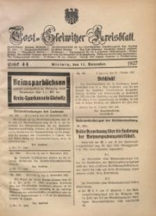 Tost-Gleiwitzer Kreisblatt, 1927, St. 44