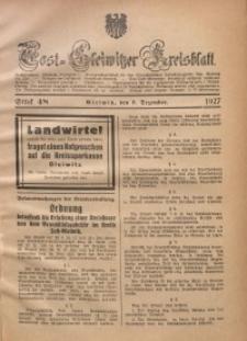 Tost-Gleiwitzer Kreisblatt, 1927, St. 48