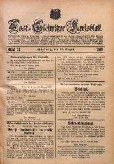 Tost-Gleiwitzer Kreisblatt, 1929, St. 32