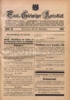 Tost-Gleiwitzer Kreisblatt, 1929, St. 44