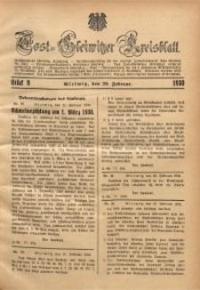 Tost-Gleiwitzer Kreisblatt, 1930, St. 9