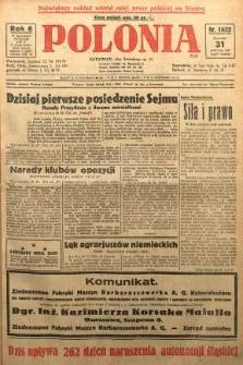 Polonia, 1929, R. 6, nr 1822