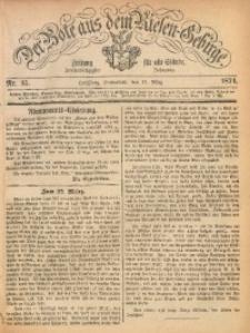 Der Bote aus dem Riesen-Gebirge, 1874, Jg. 62, Nr. 35