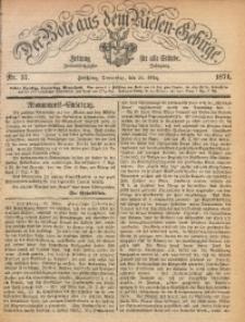 Der Bote aus dem Riesen-Gebirge, 1874, Jg. 62, Nr. 37