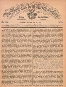 Der Bote aus dem Riesen-Gebirge, 1874, Jg. 62, Nr. 101
