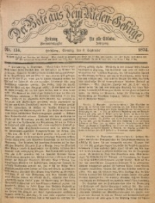 Der Bote aus dem Riesen-Gebirge, 1874, Jg. 62, Nr. 134