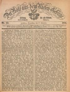 Der Bote aus dem Riesen-Gebirge, 1874, Jg. 62, Nr. 221
