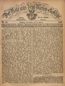 Der Bote aus dem Riesen-Gebirge, 1873, Jg. 61, Nr. 18
