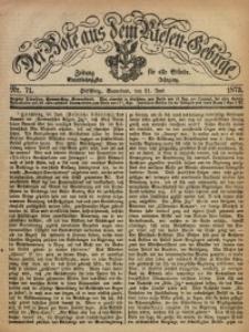 Der Bote aus dem Riesen-Gebirge, 1873, Jg. 61, Nr. 71