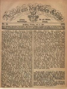 Der Bote aus dem Riesen-Gebirge, 1873, Jg. 61, Nr. 81