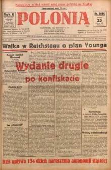 Polonia, 1929, R. 6, nr 1695