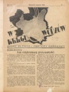 W Kręgu Wodzów, 1936, R. 4, nr 1