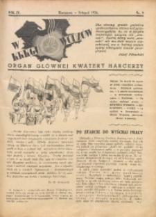 W Kręgu Wodzów, 1936, R. 4, nr 9