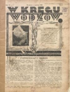 W Kręgu Wodzów, 1938, R. 6, nr 6