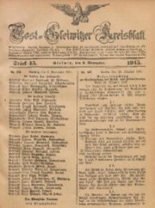 Tost-Gleiwitzer Kreisblatt, 1915, Jg. 73, St. 45