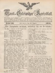 Tost-Gleiwitzer Kreisblatt, 1916, Jg. 74, St. 35