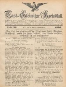 Tost-Gleiwitzer Kreisblatt, 1916, Jg. 74, St. 36