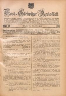 Tost-Gleiwitzer Kreisblatt, 1931, St. 20