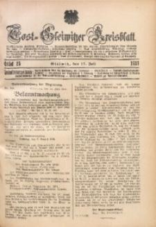 Tost-Gleiwitzer Kreisblatt, 1931, St. 25