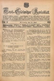 Tost-Gleiwitzer Kreisblatt, 1932, St. 24