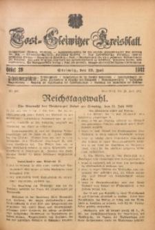 Tost-Gleiwitzer Kreisblatt, 1932, St. 29