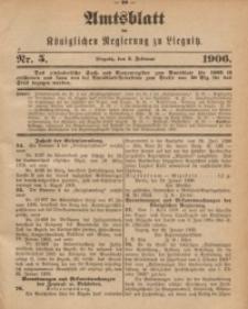 Amts-Blatt der Königlichen Regierung zu Liegnitz, 1906, Jg. 96, Nr. 5