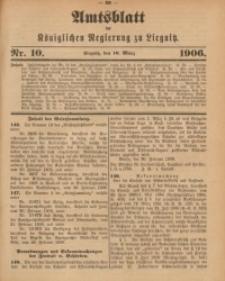 Amts-Blatt der Königlichen Regierung zu Liegnitz, 1906, Jg. 96, Nr. 10