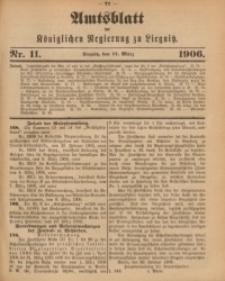 Amts-Blatt der Königlichen Regierung zu Liegnitz, 1906, Jg. 96, Nr. 11
