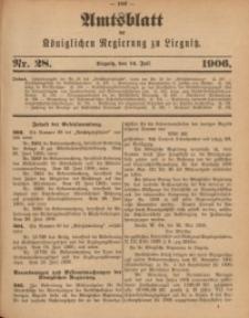 Amts-Blatt der Königlichen Regierung zu Liegnitz, 1906, Jg. 96, Nr. 28