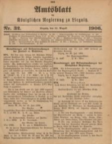 Amts-Blatt der Königlichen Regierung zu Liegnitz, 1906, Jg. 96, Nr. 32