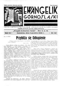 Ewangelik Górnośląski, 1938, R. 7, nr 50