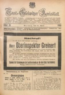 Tost-Gleiwitzer Kreisblatt, 1933, St. 18