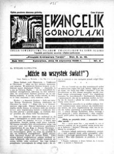 Ewangelik Górnośląski, 1939, R. 8, nr 3