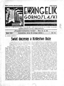 Ewangelik Górnośląski, 1939, R. 8, nr 8
