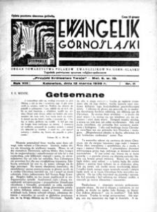 Ewangelik Górnośląski, 1939, R. 8, nr 11