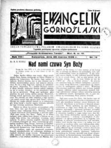 Ewangelik Górnośląski, 1939, R. 8, nr 13